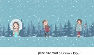 PANEL: Wintergirls 0,75m - Summersweat