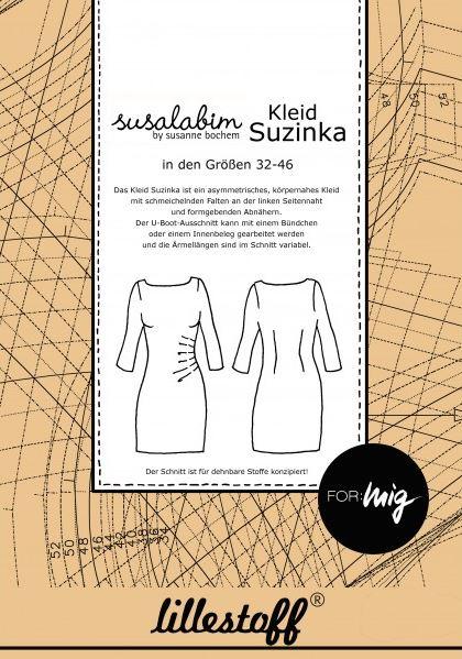 Zwirnpiraten - Papier-Schnittmuster Suzinka Kleid von SUSAlabim