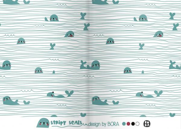 LILLESTOFF Stripy Seals - Jersey